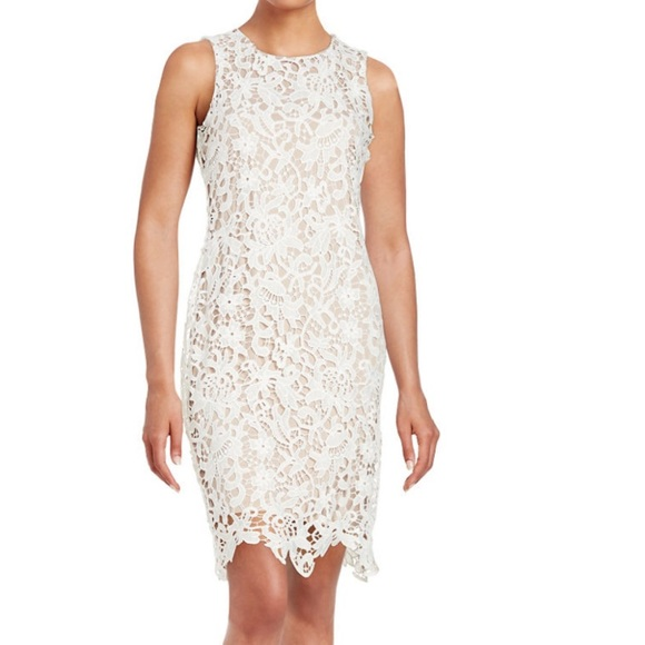 9aa47971e787 Calvin Klein Lace sheath dress